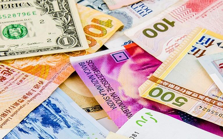 Calforex exchange rates