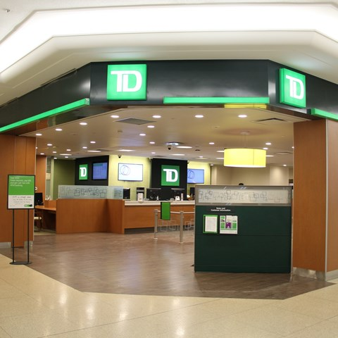 TD Bank & Foreign Exchange Centre | West Edmonton Mall
