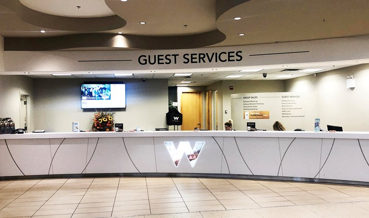 Guest Services, Group Sales & Mall Administration