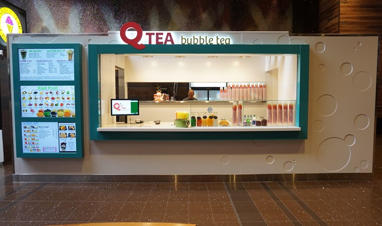Q Tea Bubble Tea & Waffles